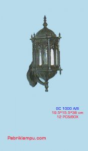 Lampu Hias Dinding GC 1000 A/S