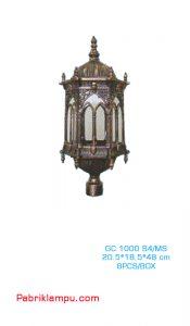 Lampu HIas Taman Model Kerajaan GC 1000 S4/MS