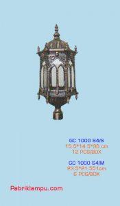 Lampu Hias Taman Model Kerajaan GC 1000 S4/S