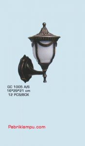 jual Lampu Hias Dinding Model Tempel GC 1005 A/S murah