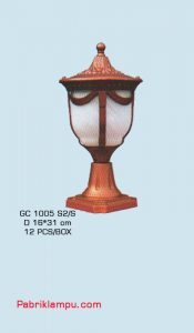 Lampu Pilar rumah jawa timur GC 1005 S2/S