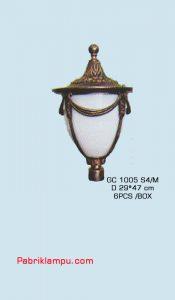 Lampu Pilar Rumah cocok untuk rumah mewah GC 1005 S4/M