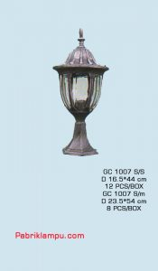 Harga Lampu Hias taman Model Lantai GC 1007 S/S
