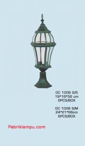 Lampu Taman Hias Murah GC 1008 S/S
