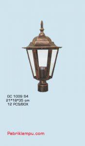 Lampu Hias Taman Tanpa Tiang GC 1009 S4