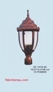 Lampu hias taman model lantai GC 1018 S4