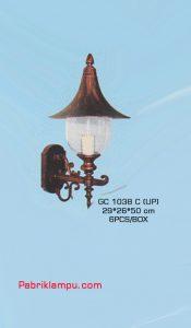 Jual lampu dinding tempel murah GC 1038 C (UP)
