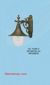 Jual lampu dinding tempel murah GC 1038 D
