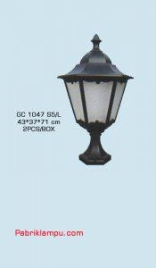Lampu hias taman model lantai GC 1047 S5/L