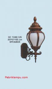 Lampu dinding hias model tempel GC 1048 C/S