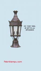 Jual lampu hias taman model lantai murah GC 1067 SB/L