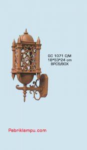 Jual lampu hias dinding model tempel GC 1071 C/M