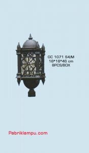 Jual lampu taman harga terjangkau dan berkualitas GC 1071 S4/M