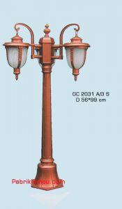 Jual Lampu Hias Taman Model tangan GC 2031 A/3 S