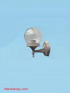 Lampu Hias Dinding Model Bulat Silver GC 208 A 15cm CL
