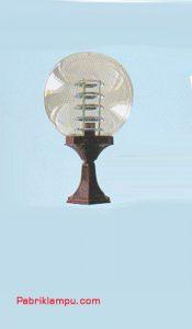 Lampu Hias Taman Model Lantai Pendek GC 208 S 30cm CL + Ref 3