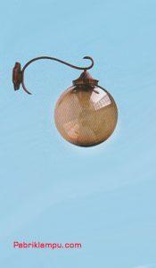 Lampu Hias Dinding Model Bawah Cokelat GC 208 W 40cm T