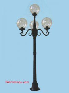 Lampu Hias Taman Model Tangan 3 TangkaiGC 238 A1per3+1 20 cm CL