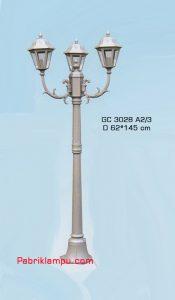 Jual lampu taman hias model tangan GC 3028 A2/3