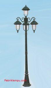 Lampu Hias Taman Model Bertopi GC 4002 A1/3 Down