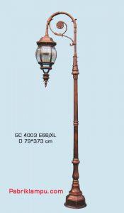 Lampu hias taman model tangan 1 tangkai GC 4003 E66/XL