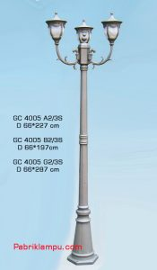 Lampu hias taman murah di surabaya GC 4005 A2/3S