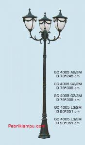 Lampu hias taman model tangan GC 4005 A2/3M