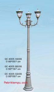 Jual lampu taman hias model tangan GC 4005 A2/3S