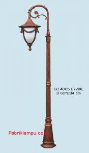 Lampu hias taman model tangan 1 tangkai GC 4005 L77 /XL