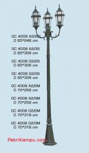 Jual lampu hias taman model Tangan GC 4008 A2/2S