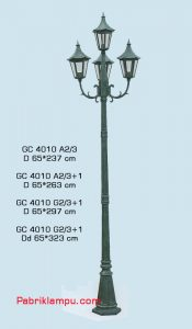Lampu Hias Taman murah gaya eropa GC 4010 A2/3