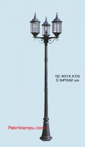 Jual lampu hias taman harga murah GC 4014 A7/3