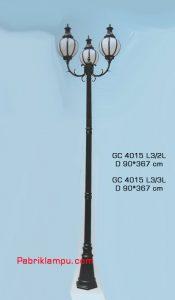 Lampu Hias taman model tangan GC 4015 L3/2L