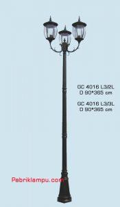 Jual lampu hias taman model tangan GC 4016 L3/2L