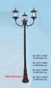 Jual lampu hias taman model tangan GC 4017 A2/2