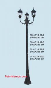 Jual lampu hias taman model tangan GC 4018 A2/2