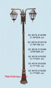 Lampu taman hias model tangan GC 4019 A12/3M