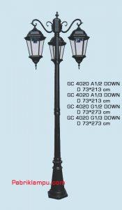 Jual lampu hias taman model tangan GC 4020 A1/2 DOWN