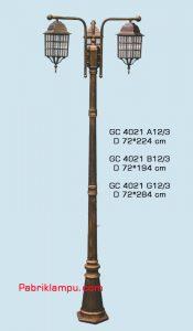 Jual lampu hias taman murah model tangan GC 4021 A12/3