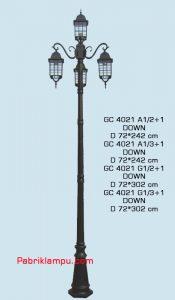 Jual lampu hias taman murah GC 4021 A1/2+1 DOWN