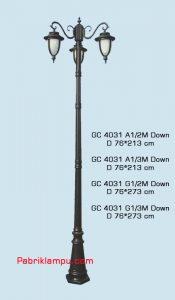 Lampu hias taman model tangan harga termurah GC 4031 A1/2M Down