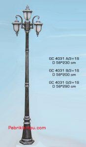 Jual murah lampu hias taman GC 4031 A/3+1S
