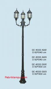 Jual lampu taman model tangan termurah di surabaya GC 4033 A2/2