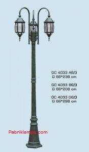 Lampu hias taman model tangan GC 4033 A6/3