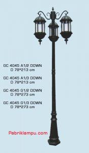 Jual lampu hias taman harga termurah GC 4045 A1/2 DOWN