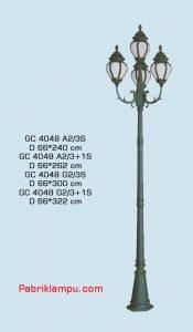 Jual lampu hias taman model tangan GC 4048 A2/3S