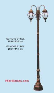 Jual lampu hias taman model tangan GC 4048 E11/3L
