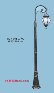 Jual lampu Hias taman model tangan 1 tangkai GC 4048 L77/L