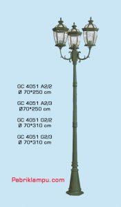 Jual lampu hias taman model tangan GC 4051 A2/2