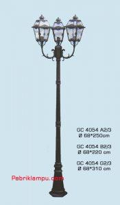 Lampu Hias Taman model tangan GC 4054 A2/3